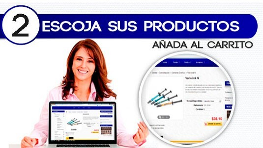 Escojer producto